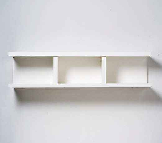 Optional Wall Hung Cabinet.