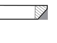 """1.25"""" Reversed Bevel - F4"""