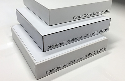 Laminate Edge Options