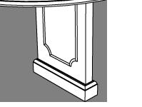 Neo-Classical Panel Leg