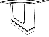 Neo-Classical Rectangular Base