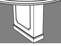 Neo-Classical Rectangular Base