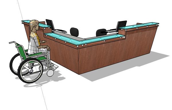 u shape conference table design