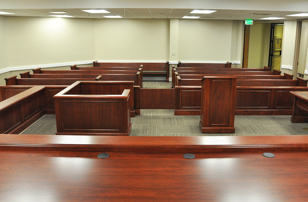 Danville Virginia Courtroom Arnold Contract