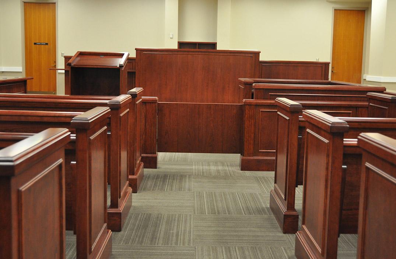 Danville Virginia Courtroom Arnold Contract