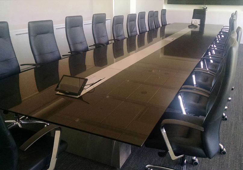 Contemporary Arnold Contract - Granite conference table