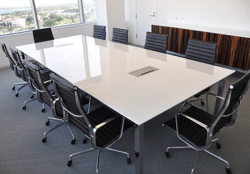Contemporary Arnold Contract - Corian conference table
