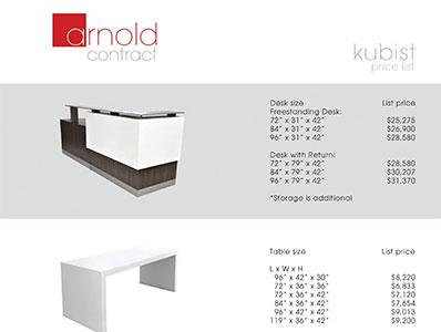 Price List - Kubist Price List