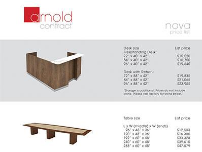 Price List - Nova Line