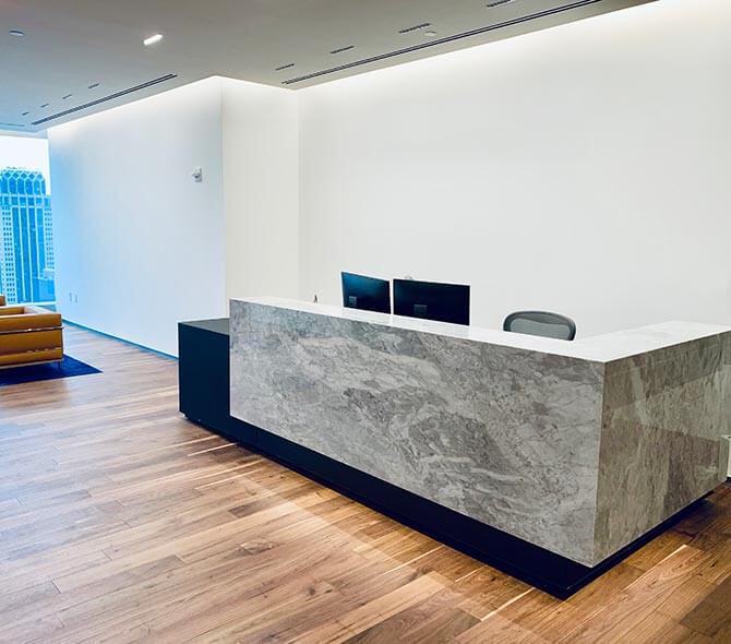 Reception Desk Installations
