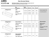 Geo Konnect 2020 Spec Guide