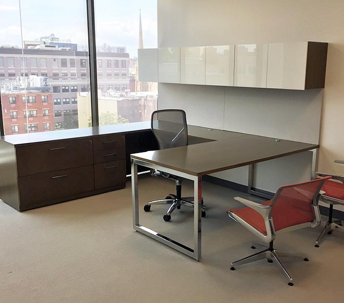 Konnect Desk Installations