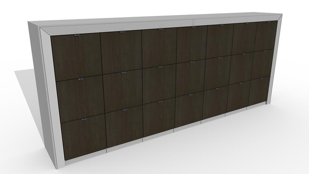 drawer lockers