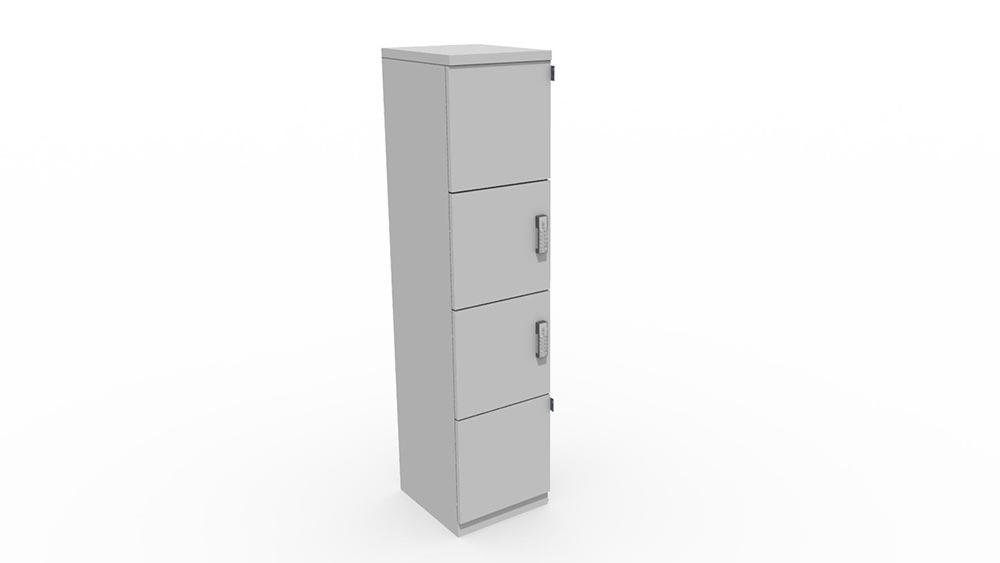 single tower locker