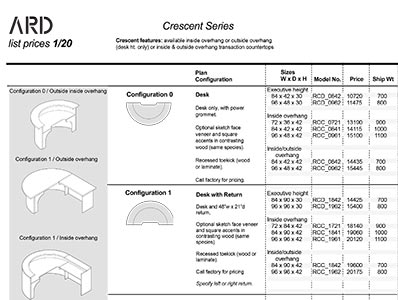 Crescent 2020 Spec Guide