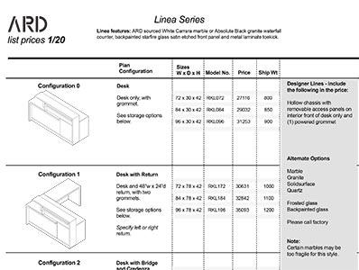 Linea 2020 Spec Guide