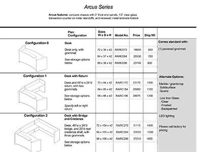 Arcus 2020 Spec Guide