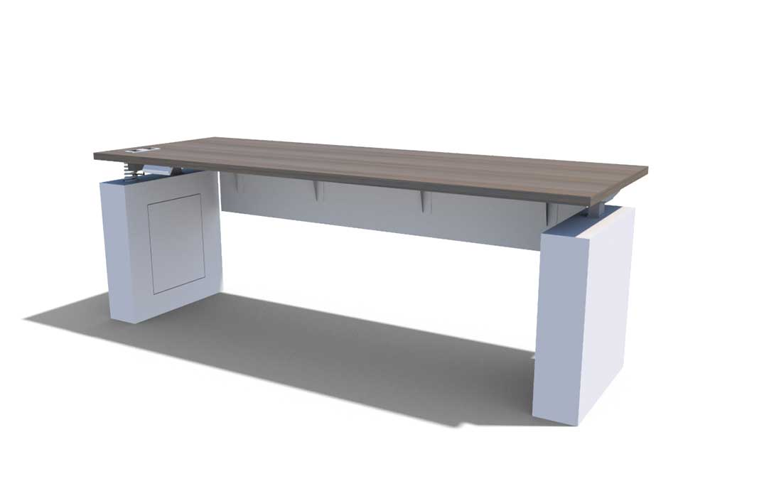 Konnect Casegoods Table With Modesty