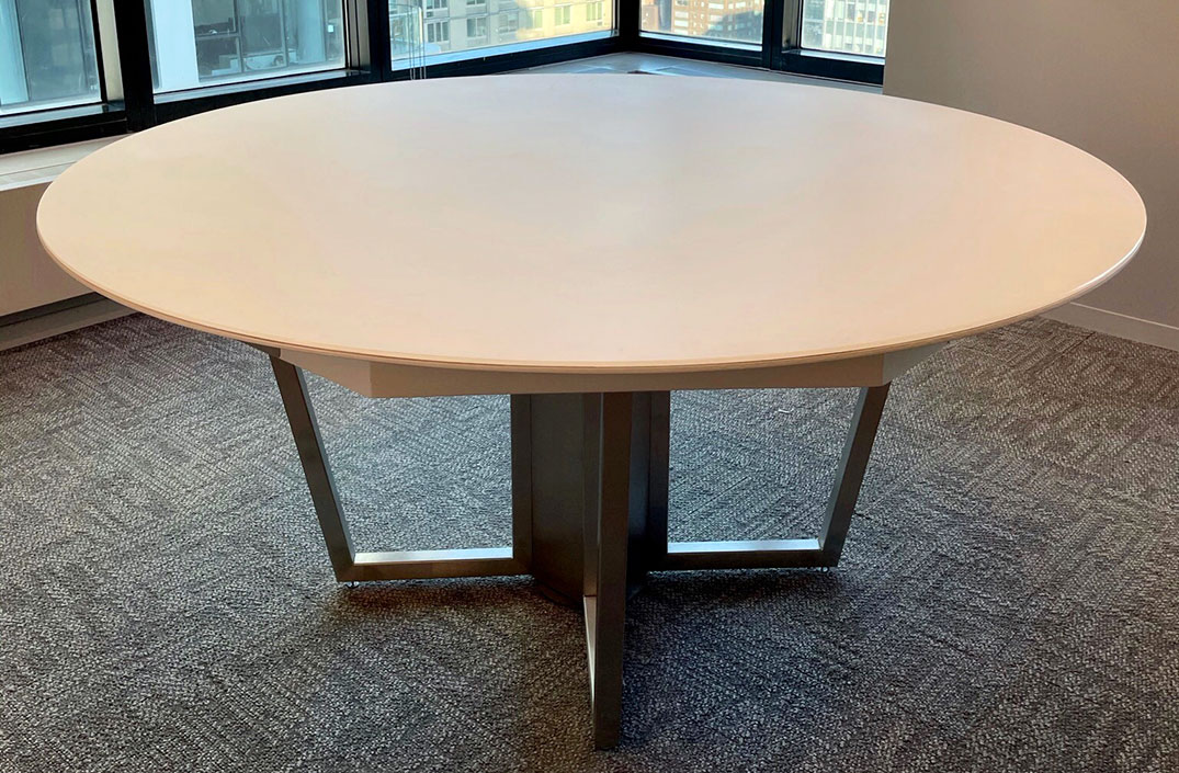 Tectoid Round Conference Table