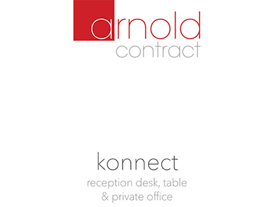 Konnect Reception Desk, Table, Private Office
