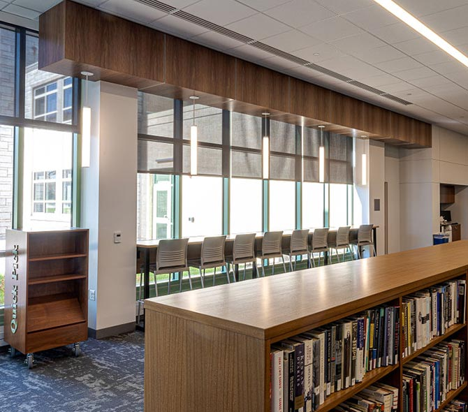 Library/Shelving Installations