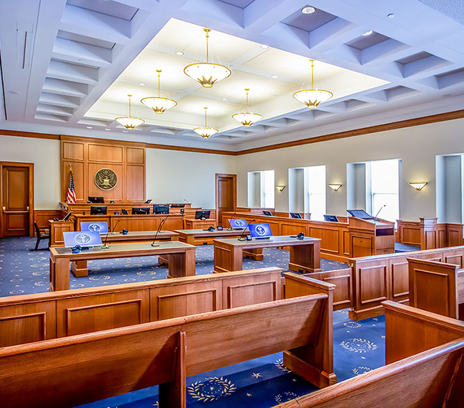 Courtroom Installations