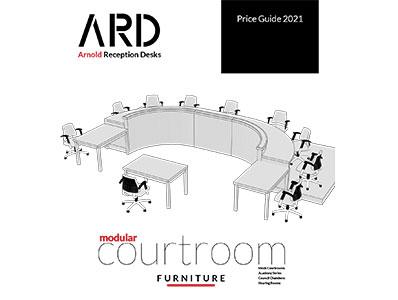 Arnold Courtroom Furniture 2021 Price List